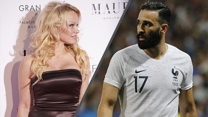 Памела Андерсон выходит замуж за футболиста сборной Франции