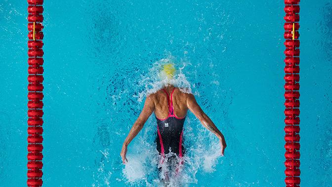 Женская сборная России по плаванию стала чемпионом в эстафете 4х100 метров