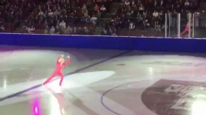 86-летний олимпийский чемпион впервые исполнил танец без своей пары: видео