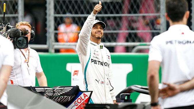 Хэмилтон досрочно стал пятикратным чемпионом «Формулы-1»