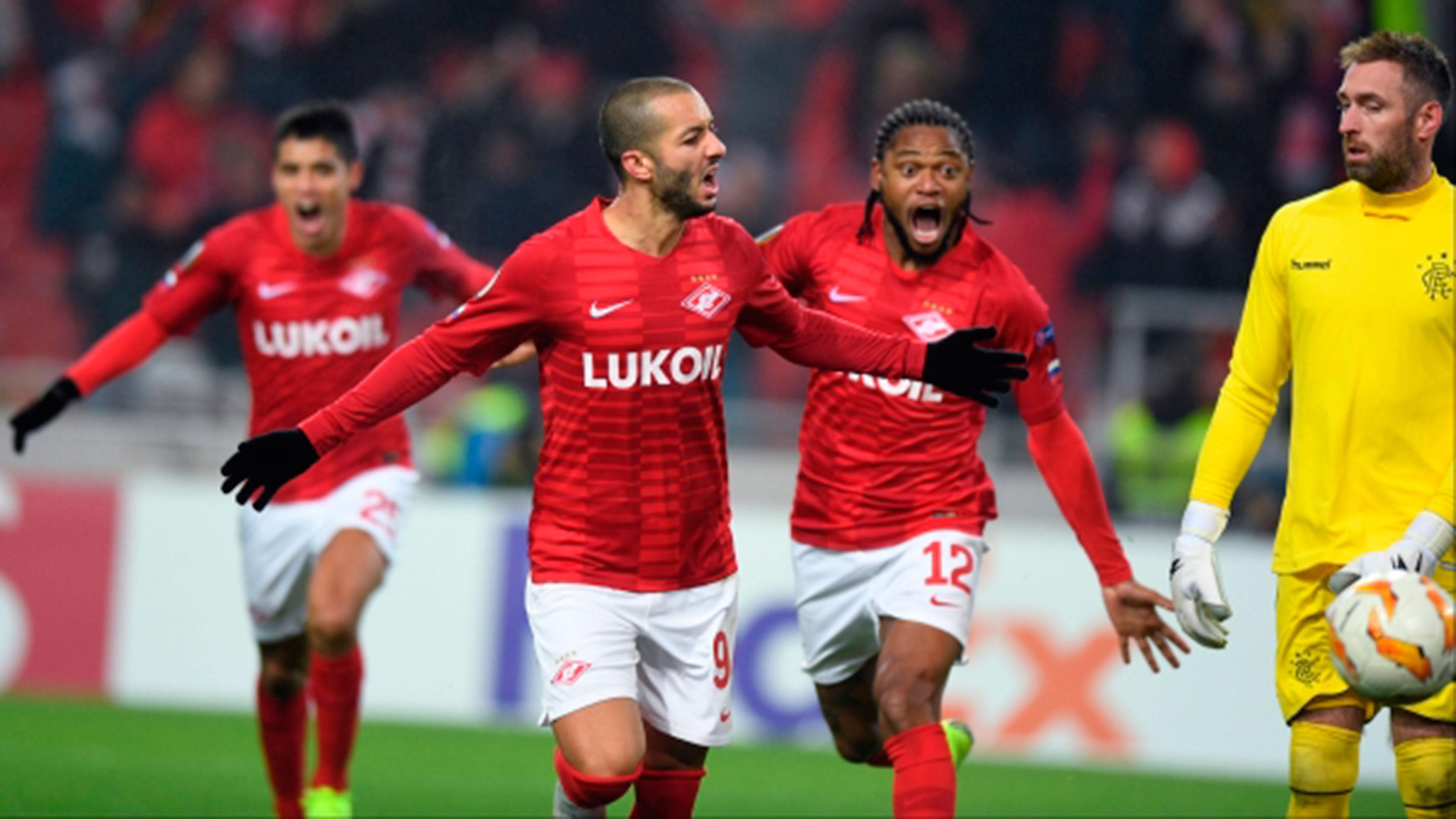 «Спартак» одержал победу над «Рейнджерс» в матче Лиги Европы