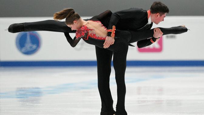 Фигуристы Мишина и Галлямов завоевали золото в финале Гран-при