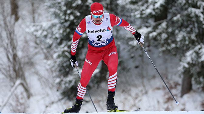 Россиянин Сергей Устюгов стал вторым в общем зачете лыжной многодневки «Тур де Ски»