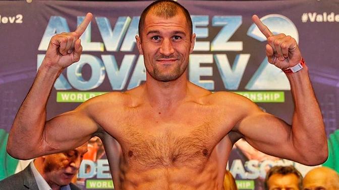 Боксер Сергей Ковалев стал чемпионом мира в полутяжелом весе