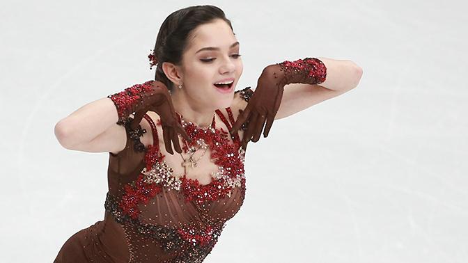 Медведева стала лидером короткой программы финала Кубка России
