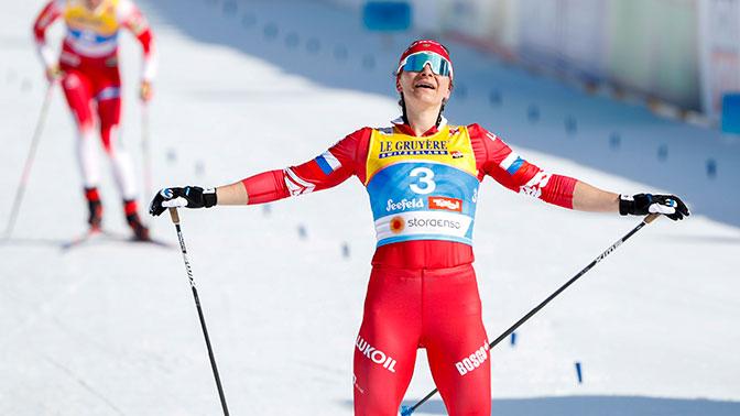 Непряева взяла бронзу в скиатлоне на ЧМ в Австрии