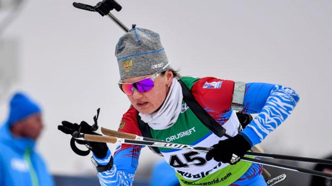 Наталья Гербулова выиграла индивидуальную гонку на Универсиаде 2019