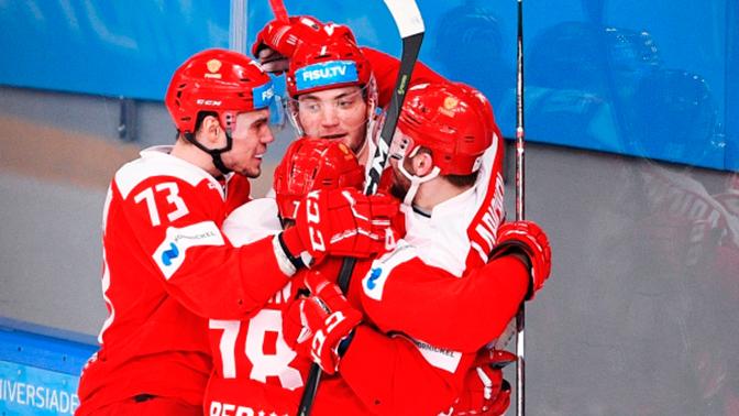 Мужская сборная РФ по хоккею завоевала золото Универсиады