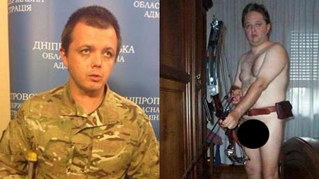 Семен Семенченко показал свой арбалет