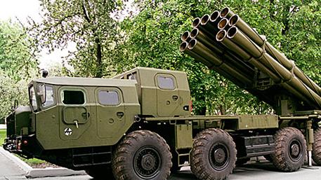 Ополченцы захватили 2 установки «Смерч» и 5 грузовиков со снарядами