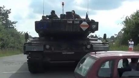 Немецкие «Леопарды» замечены на Украине