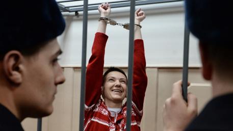 Савченко симулировала голодовку