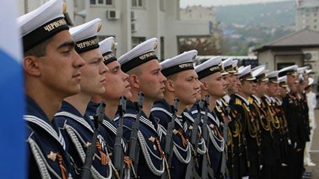 В Севастополе празднуют годовщину образования Черноморского флота России