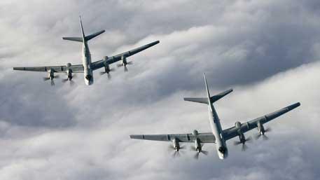 Истребители США подняли на перехват российских Ту-95