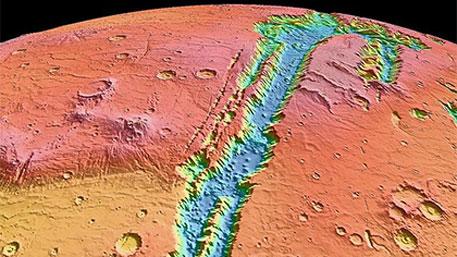 NASA сделало снимок, доказывающий, что на Марсе есть вода