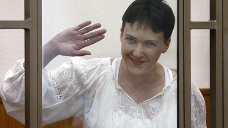 Савченко заговорила по-русски