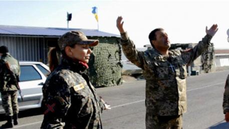 Украинцы взмолились на границе с Крымом «об освобождении полуострова»