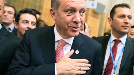 СМИ рассказали, как Эрдоган поджидал Путина возле туалета