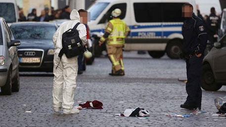 Неизвестные расстреляли прохожих в Берлине