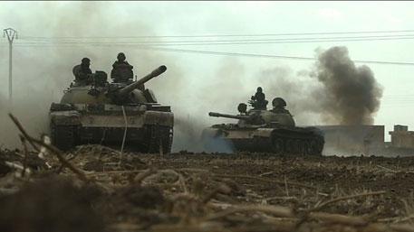 Сирийские войска «утюжат» боевиков, уничтожая их укрепрайоны и технику