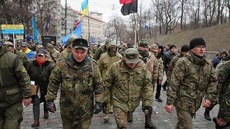 Силовики поставили ультиматум радикалам, занявшим отель в Киеве