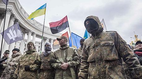 Радикальная организация, захватившая отель в Киеве, была создана неделю назад