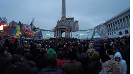 Третий Майдан требует отставки правительства Украины