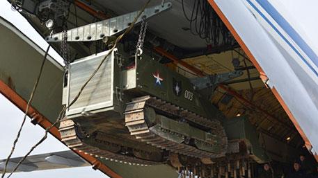 «Уран-6» используют российские военные для разминирования Пальмиры