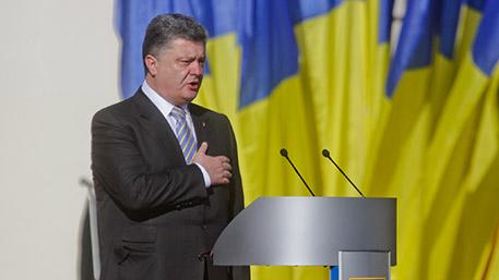Порошенко собрался спеть гимн Украины в Донецке