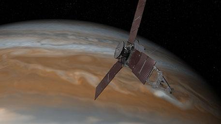 Американский зонд Juno успешно вышел на орбиту Юпитера