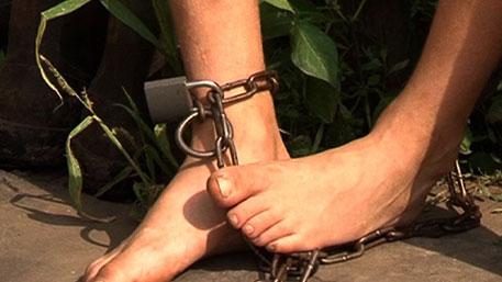 Ножки в кандалах
