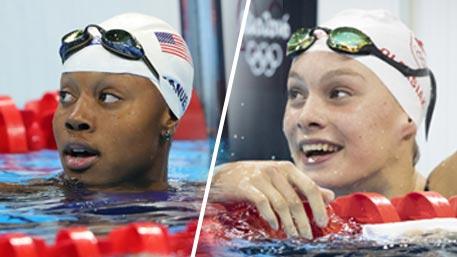 Пловчихи из США и Канады поделили золото Олимпиады