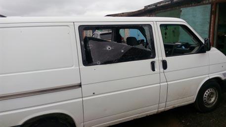 Автобус Милонова обстреляли в Донбассе