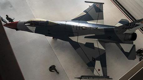США раскрасили истребитель «условного противника» в камуфляж Су-35 ВКС РФ