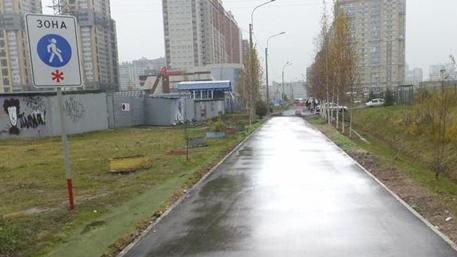 Чиновники в Петербурге отремонтировали дорогу с помощью фотошопа