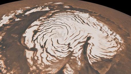На Марсе нашли огромное ледяное море