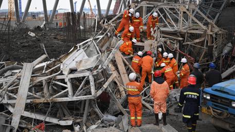 Число погибших при обрушении электростанции в Китае возросло до 74 человек