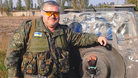 Боец ВСУ сделал селфи с «лапкой ополченца»