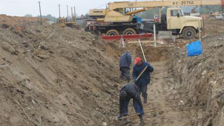 Украина начала возводить стену под Луганском
