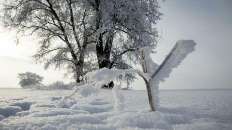 Температура в ХМАО опустилась до -62°С
