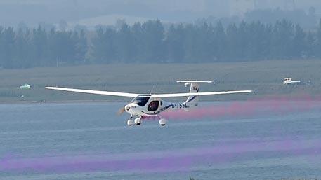 Испытания самолета на водородном топливе успешно прошли в Китае