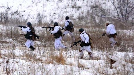 Украинские военные взяли под контроль дорогу на Горловку