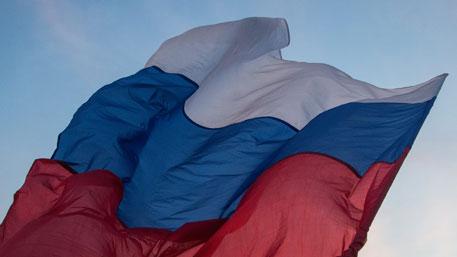 Над Мелитополем поднялся российский флаг