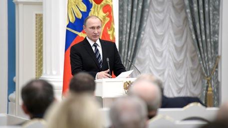 Путин наградил молодых ученых за инновации