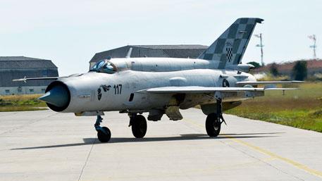В Хорватии не могут взлететь МиГ-21, отремонтированные на Украине