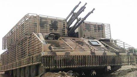 Сирийцы превратили ЗСУ «Шилка» в сверхзащищенные машины огневой поддержки