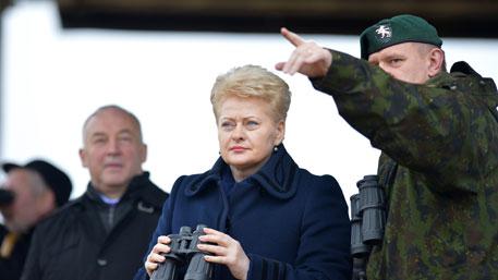Президент Литвы назвала Россию угрозой для всей Европы