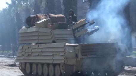 На российские «Шилки» в Сирии поставили «угловую защиту» от Т-72