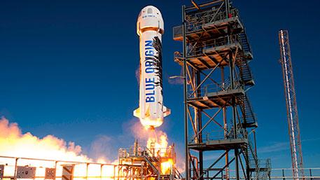 Blue Origin построит три ракеты для космических туристов