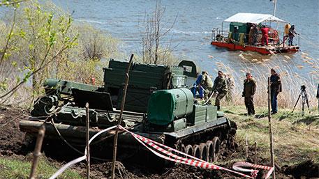 Инженеры ЗВО нашли на дне Дона немецкую САУ Stug III